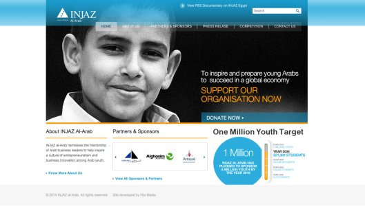 Injaz_website