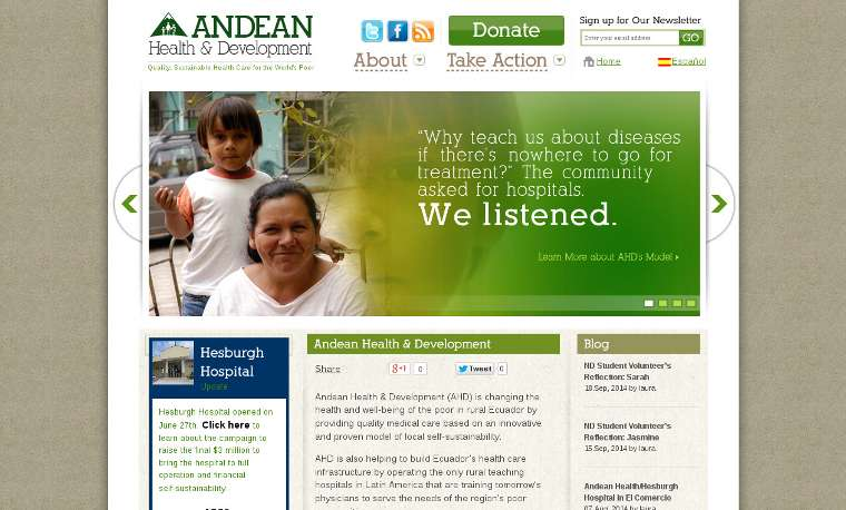 Andean Health_website