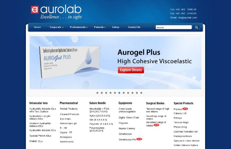 Aurola_website