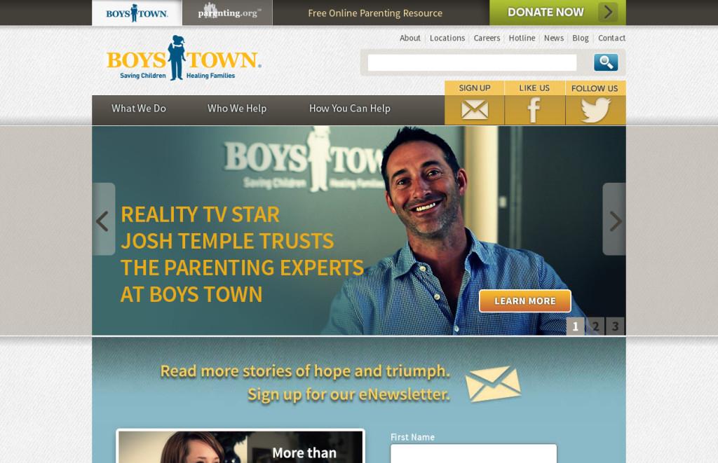 Boys Town - website