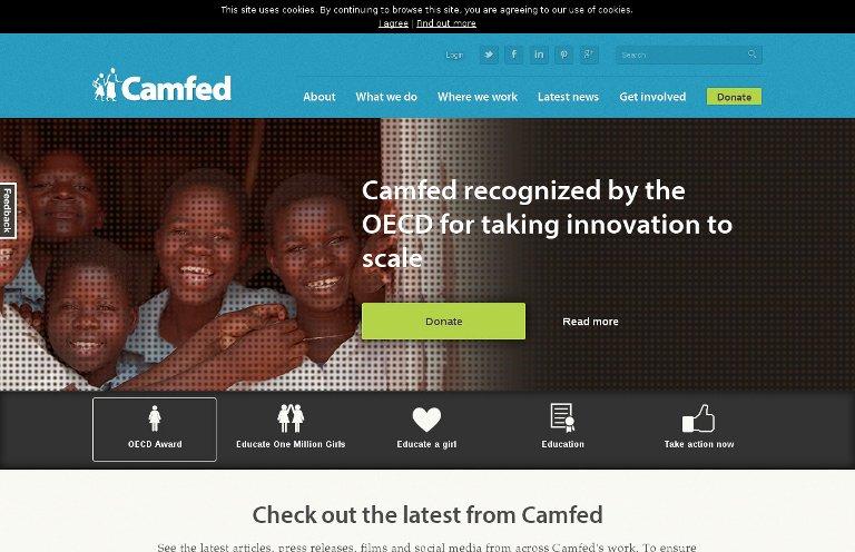 Camfed - website
