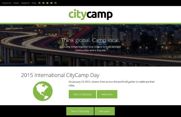 CityCamp - website