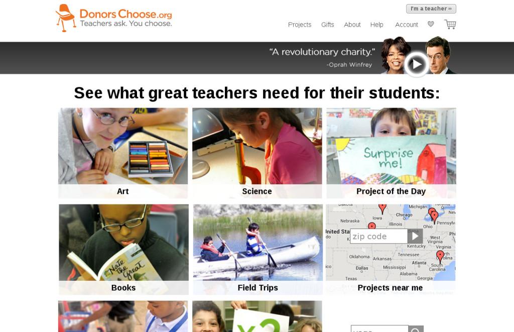 DonorsChoose.org_website