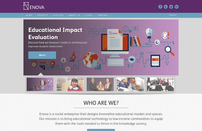 Enova_website