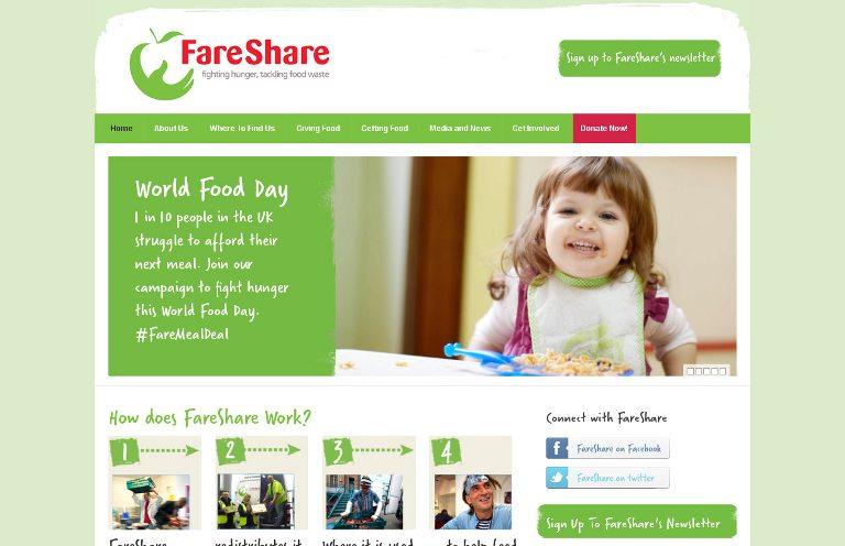 FareShare_website