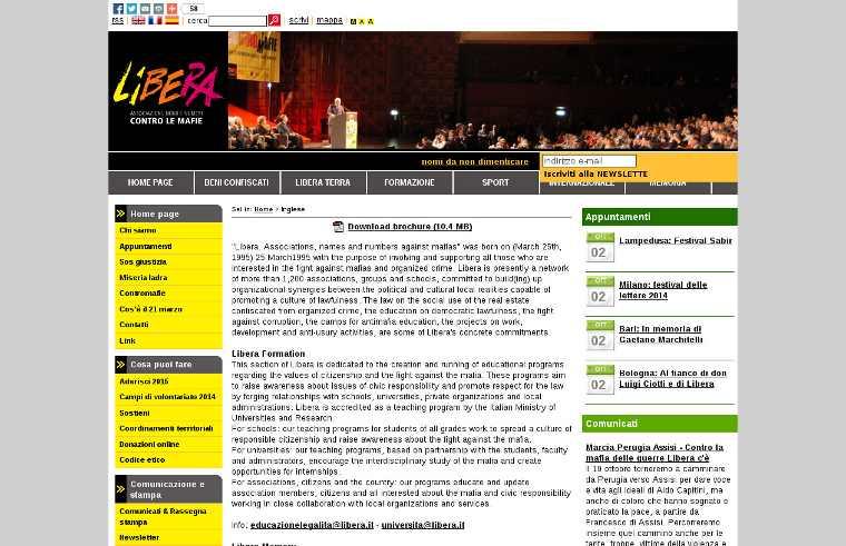 Libera - website