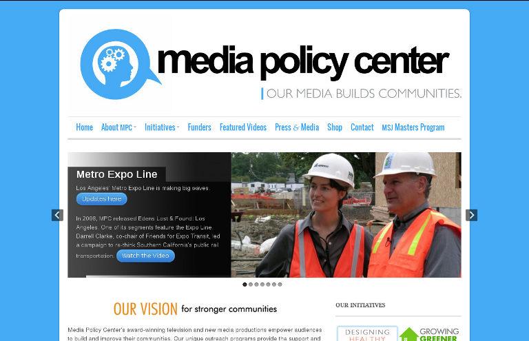 Media Policy Center_website