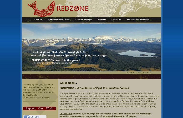 Redzone_website