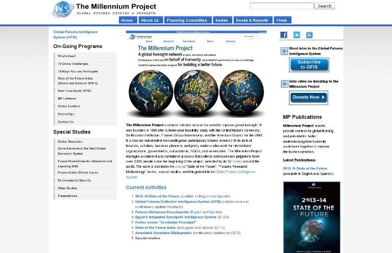 The Millennium Project_website