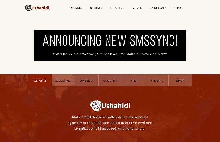 Ushahidi_website