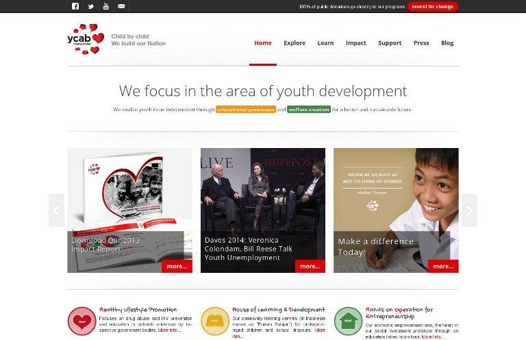 YCAB Foundation_website