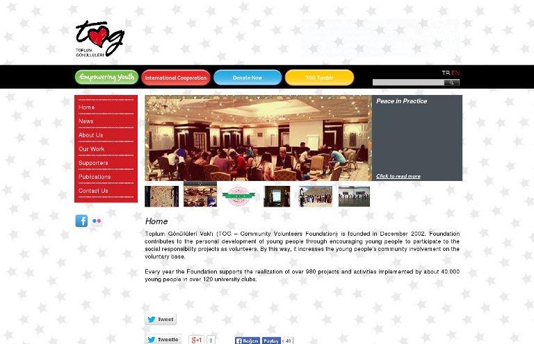 Community Volunteers Foundation_website