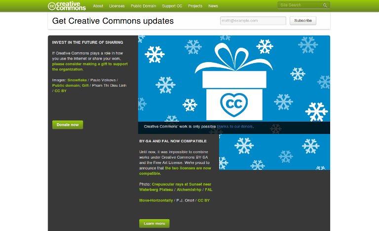 Creative Commons_website
