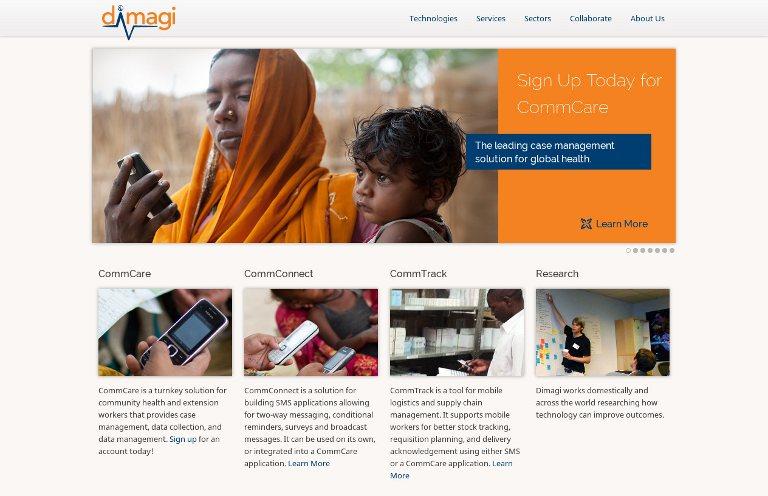 Dimagi_website