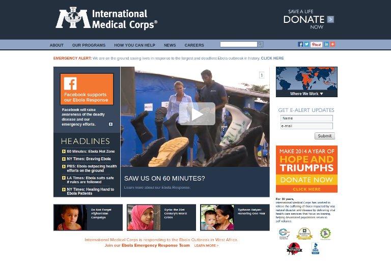 International Medical Corps_website