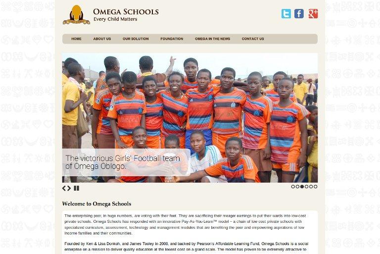Omega Schools_website