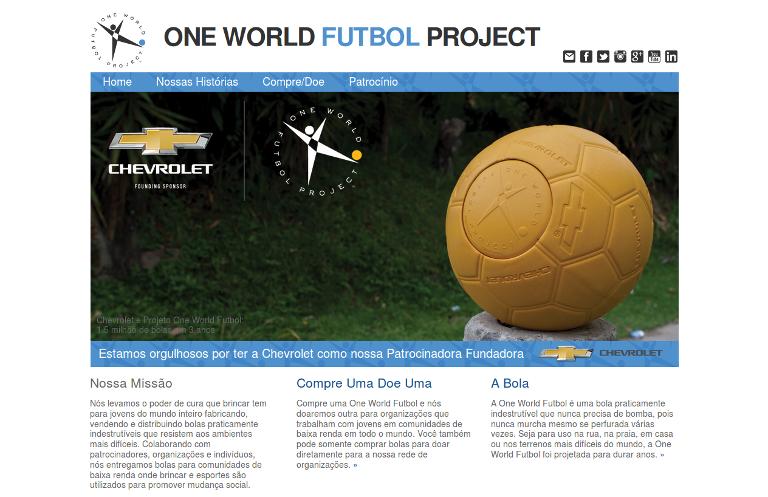 One World Futbol_website