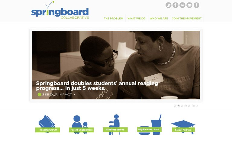 Springboard Collaborative_website