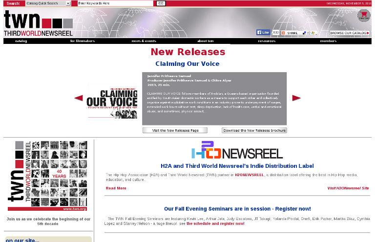 TWN - Third World Newsreel_website