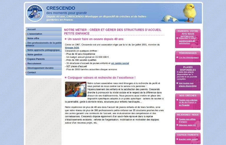 Crescendo développe_website
