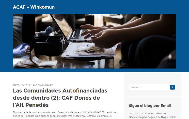 ACAF – Winkomun | webpage