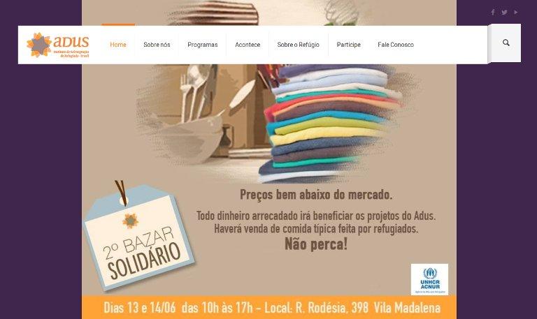 Adus | Webpage