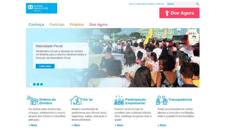 Aldeias Infantis_webpage