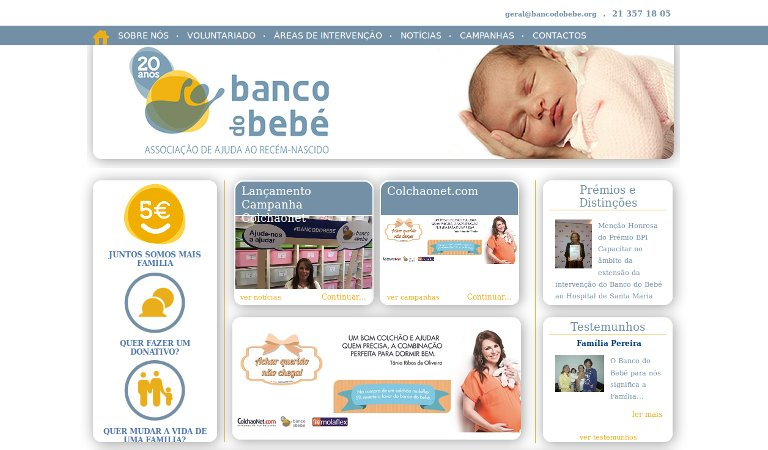 Banco de bebe_webpage