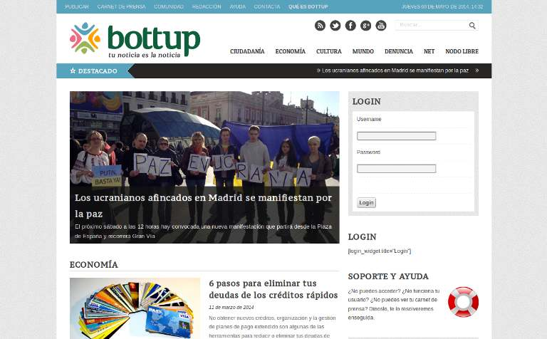 Bottup_webpage
