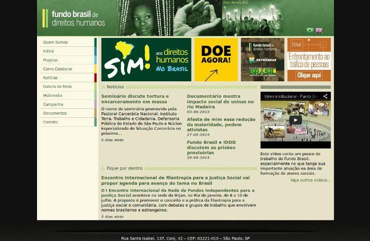 Fundo Brasil de Direitos Humanos_webpage