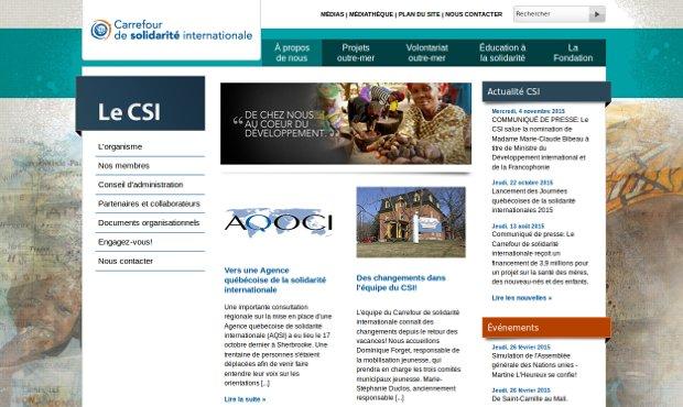 Carrefour de solidarité internationale_website