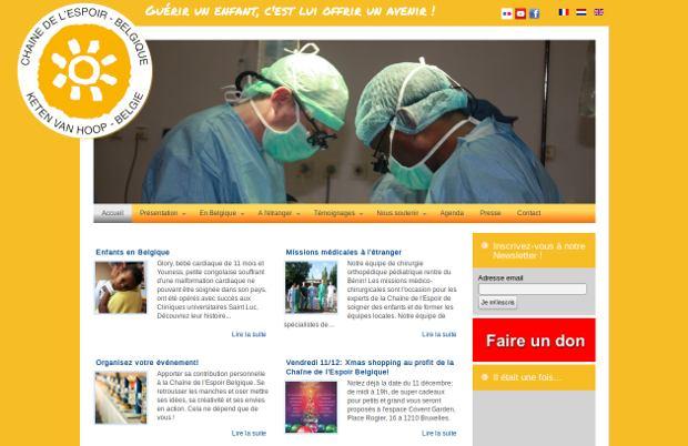 Chaîne de l'Espoir_website