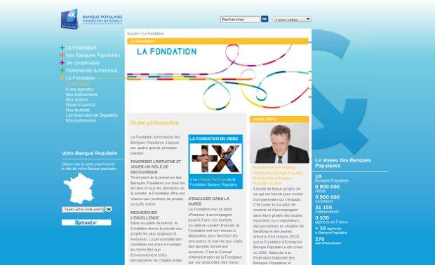Fédération Nationale des Banques Populaires_website