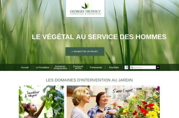 Fondation Georges TRUFFAUT_website