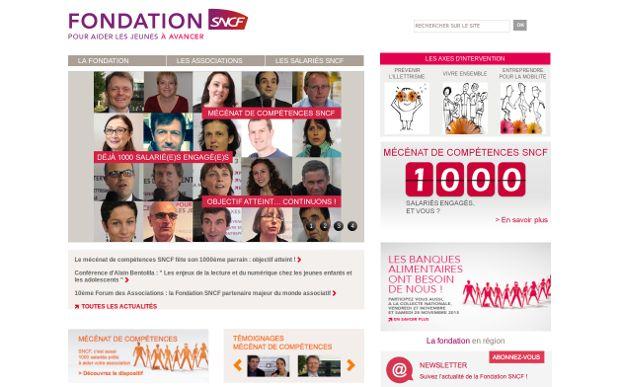Fondation SNCF_website