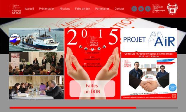 Fondation UNICE_website