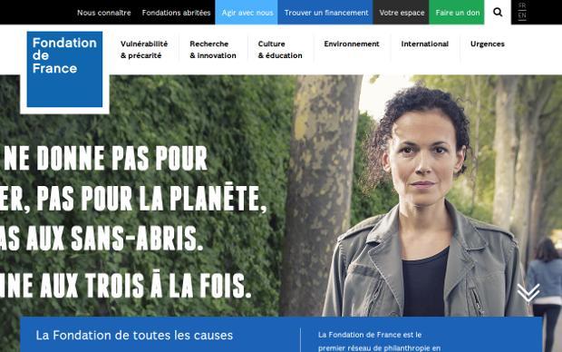 Fondation de France_website