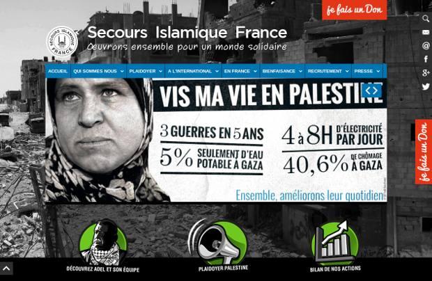 Secours Islamique France_website