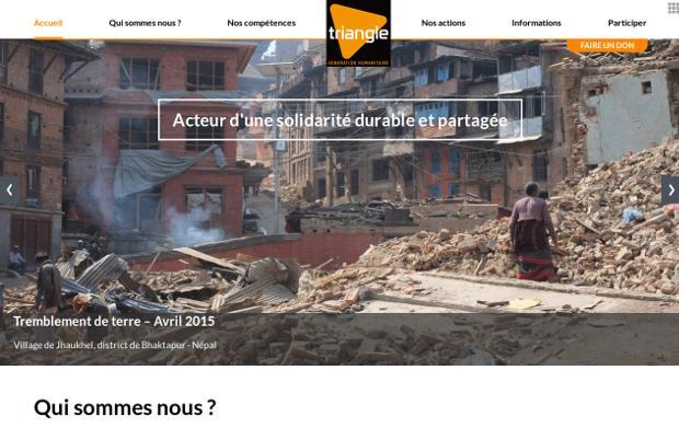 Triangle génération humanitaire_website