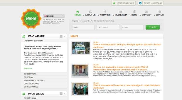 WAHA - Website