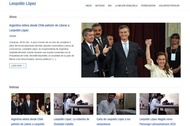 Leopoldo López_website