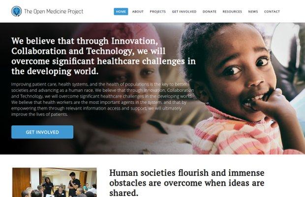 The Open Medicine Project_website