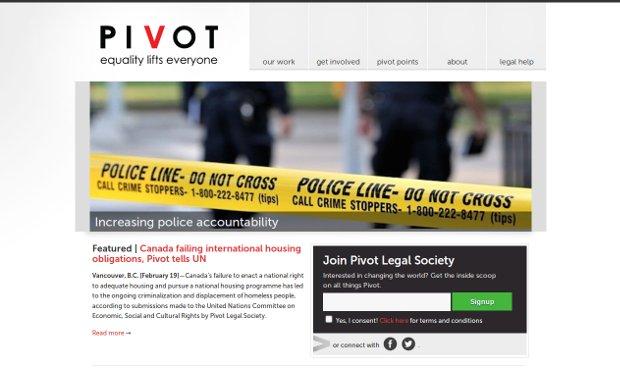 Pivot Legal Society_homepage