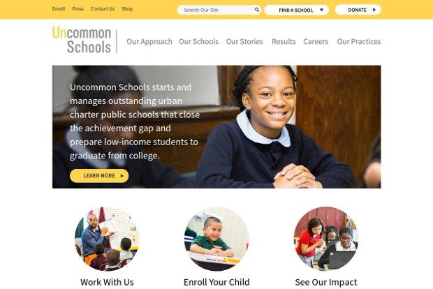 Uncommon Schools_homepage