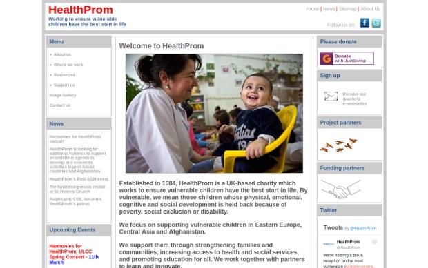 HealthProm_homepage