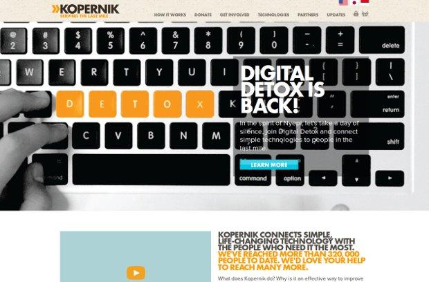 Kopernik_homepage