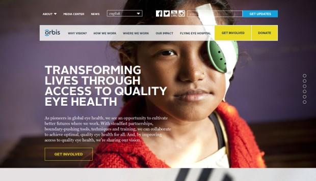Orbis_homepage