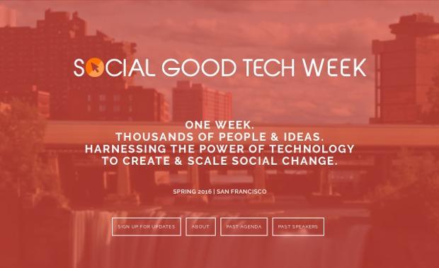 Social Good Tech_homepage