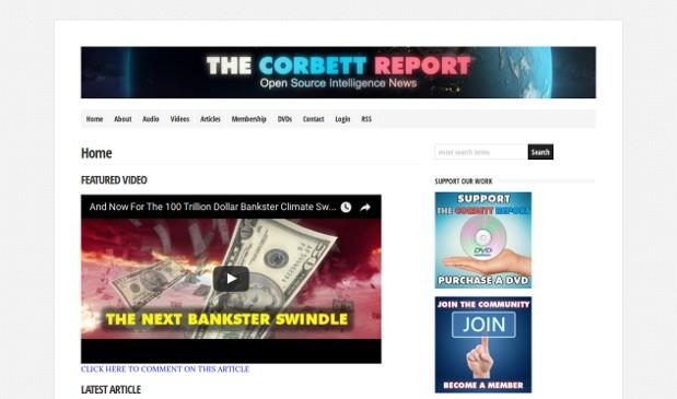 The Corbett Report_website