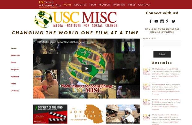 USC Media Institute for Social Change_homepage